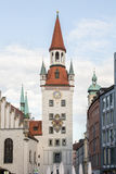 Marienplatz in munich Royalty Free Stock Photo
