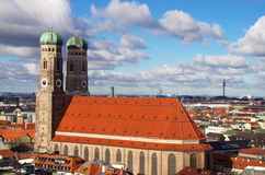 Frauenkirche cathedral in Munich Stock Photos