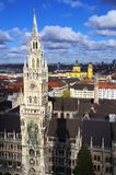 Marienplatz Munich Royalty Free Stock Images