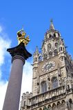 Marienplatz Munich Stock Photos
