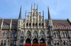Marienplatz Munich Germany Royalty Free Stock Photography