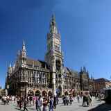 Marienplatz in Munich,Germany Royalty Free Stock Photography