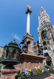 Marienplatz Munich Germany Stock Photography
