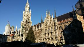 MARIENPLATZ Royalty Free Stock Photography