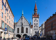 Marienplatz Munich Germany Royalty Free Stock Images