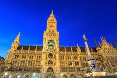 Marienplatz - Munich - Germany. Marienplatz town hall - Munich - Germany stock photos