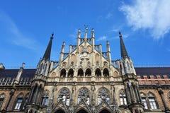 Marienplatz Munich. Glockenspiel bell tower at Marienplatz Munich, Germany Royalty Free Stock Photos