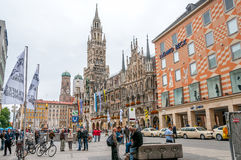 Marienplatz in Munich. Marienplatz with New City Hall in Munich stock image