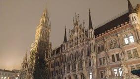Marienplatz. Munich ,old building,Marienplatz Royalty Free Stock Photography