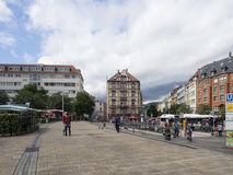 Marienplatz, Stuttgart Stock Photo