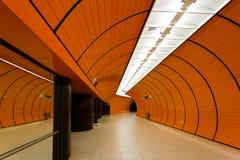 Marienplatz subway station in Munich royalty free stock images