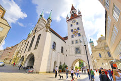 Marienplatz Royalty Free Stock Image