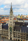 Marienplatz town hall of Munich, Germany Stock Photo