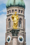 The Mariensäule column in Munich, Germany. Stock Photo