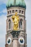 The Mariensäule column in Munich, Germany. Stock Photo