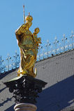 St. Mary monument in Munich  Stock Images