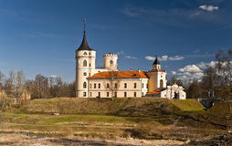 Mariental Castle. In an early spring day Stock Image
