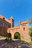 Marienwerder castle (1350) of Teutonic Order. Kwidzyn, Poland Royalty Free Stock Photo