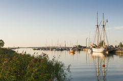 Mariestad guestharbour Royalty Free Stock Photos