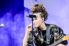 Mariette. Artist name Mariette is a Swedish singer, artist and songwriter Stock Photography