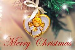 Mariez la conception de fond de Noël pour votre carte de voeux, insectes, invitation, affiches, brochure, bannières, calendrier Photos stock