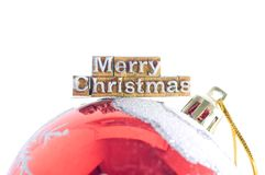 Mariez Noël Photographie stock libre de droits
