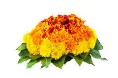 Marigold bouquet Stock Photography