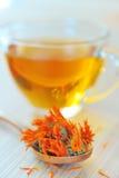 Marigold herbal tea Stock Images