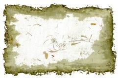 Marigold petal grunge frame Stock Photography