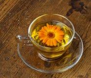 Marigold tea Stock Photo