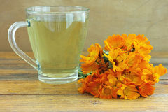 Marigold tea Stock Photography