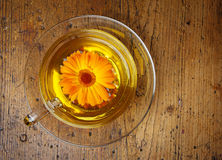 Marigold tea Stock Images