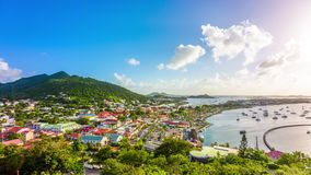 Marigot, Άγιος Martin απόθεμα βίντεο