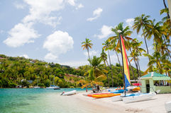 Marigot bay Royalty Free Stock Image
