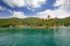 Marigot Bay, Saint Lucia, Caribbean Royalty Free Stock Images