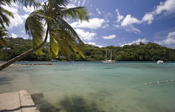 Marigot Bay, St. Lucia Royalty Free Stock Images