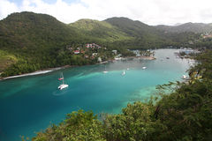 Marigot bay, St. Lucia Stock Photos