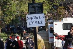 2015 marihuan wiec 22 Fotografia Royalty Free