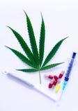 marihuana Fotografia Stock