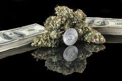 Marihuana-1 Royalty-vrije Stock Afbeelding