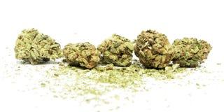 Marihuana en Cannabis stock afbeelding