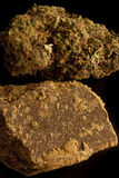 Marihuana en Hasjiesj Stock Foto