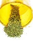 Marihuana, Hanf-Legalisierung, weißes Hintergrund-Studio, Drogen Stockfoto