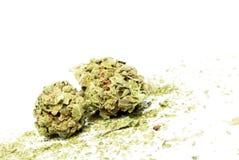 Marihuana i marihuana Zdjęcie Royalty Free