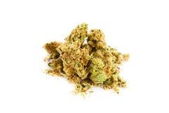 Marihuana  isolated on white background drugs Stock Photo