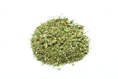 Marihuana, Legalisierung, weißes Hintergrund-Studio, entspannender Hanf Stockfotografie