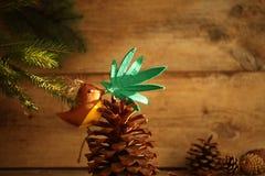 Marihuana liść w ptaka belfrze Marihuany marihuany nowego roku rozrywka obraz royalty free