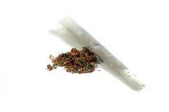 Marihuana, tabak en verbinding Royalty-vrije Stock Afbeelding