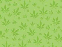 Marihuanahintergrund Lizenzfreies Stockfoto