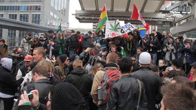 Marihuanaprotest Toronto 2011 - 5 stock footage